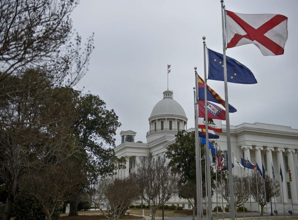 The Alabama State Capitol, Montgomery