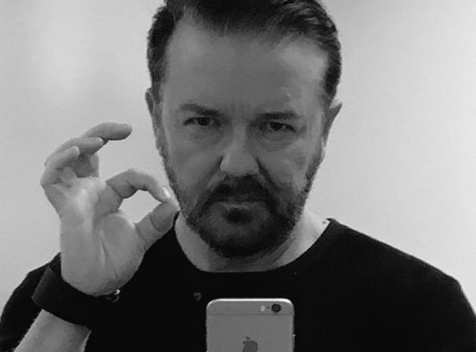 Picture: Ricky Gervais/Twitter