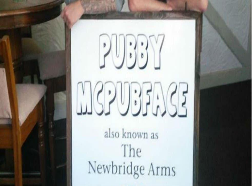 Picture: Pubby McPubFace/Facebook