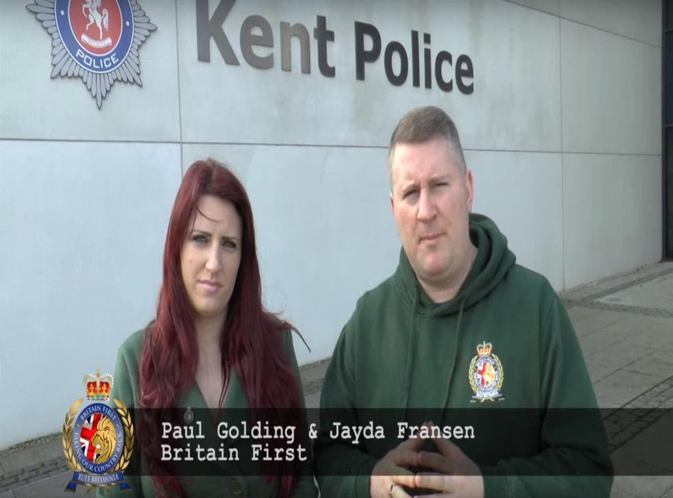 Picture: Britain First