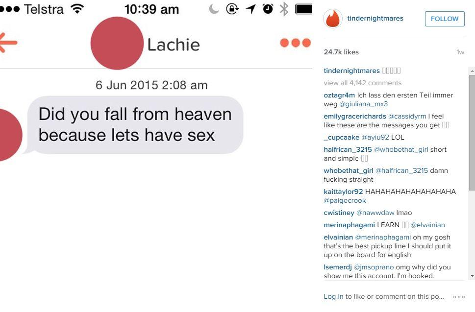 20 of the best worst messages ever sent on Tinder | indy100