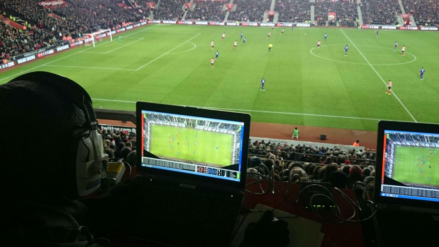 Here's what the man with an Xbox controller at St James' Park was actually doing