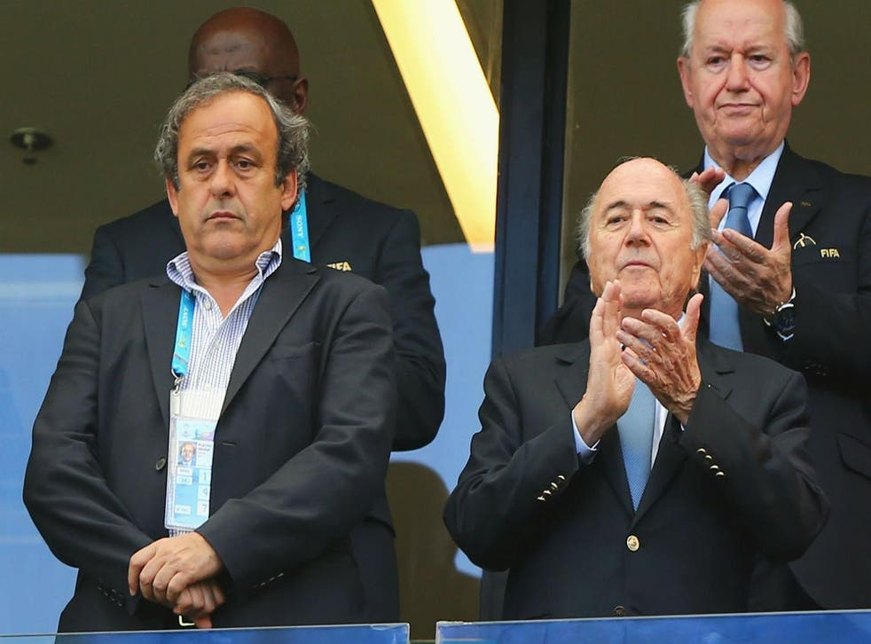 Michel Platini, the president of Uefa