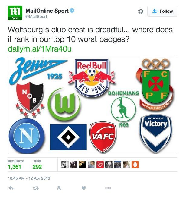 When the Daily Mail had a pop at Zenit, Zenit got some