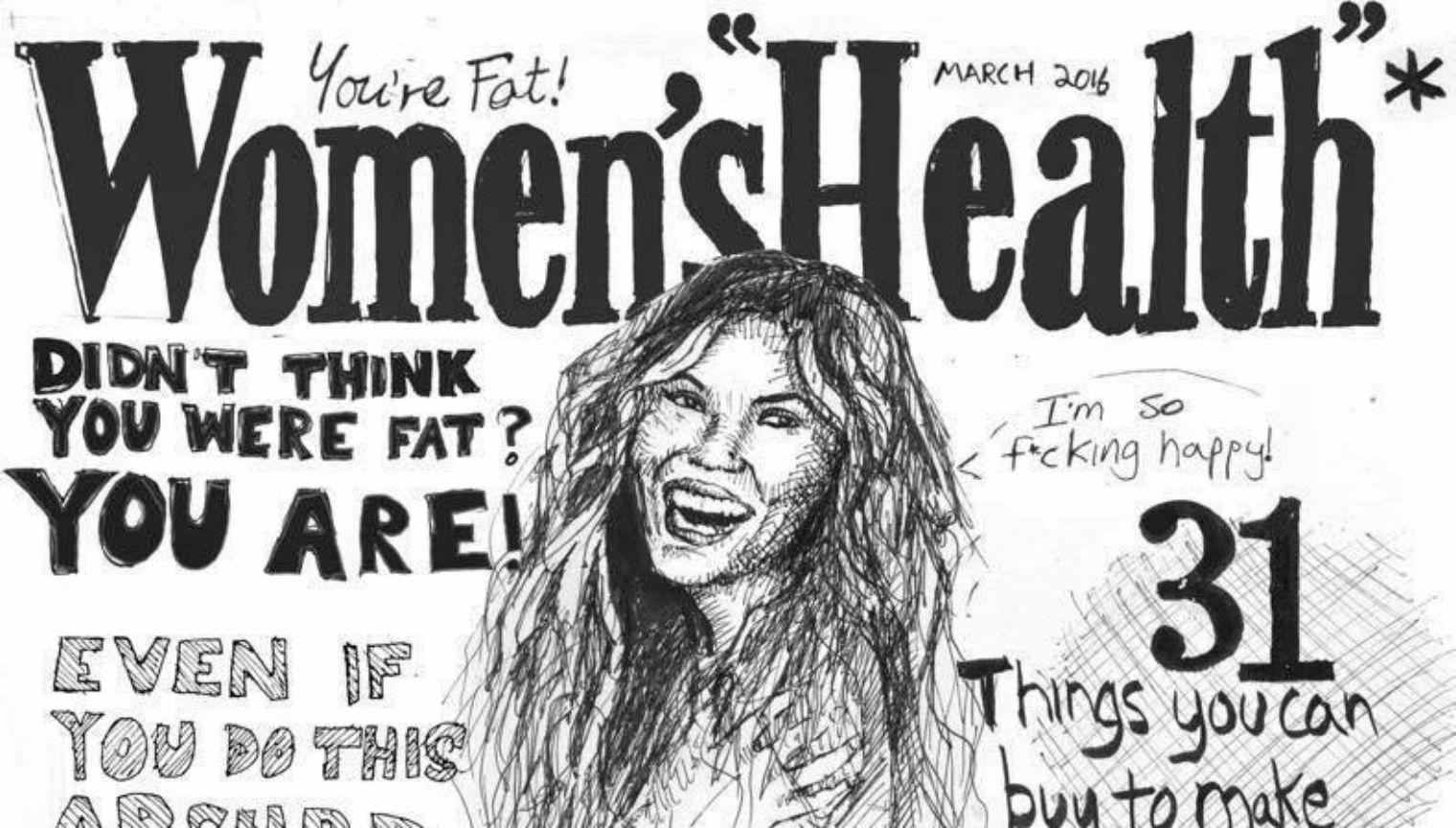 This fake front cover nails the underlying problem with most women's  magazines