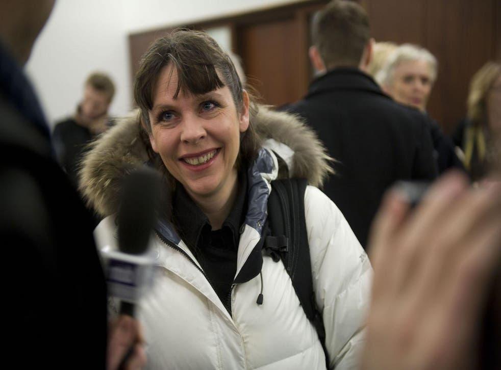 Birgitta Jonsdottir, cofounder of the Pirate Party