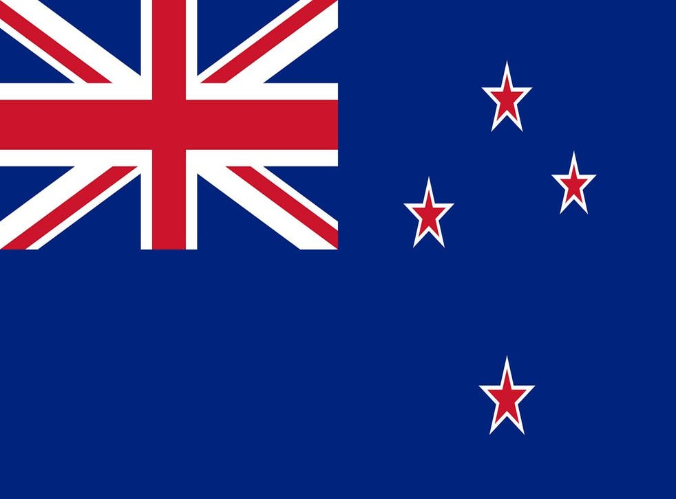 Current New Zealand flag