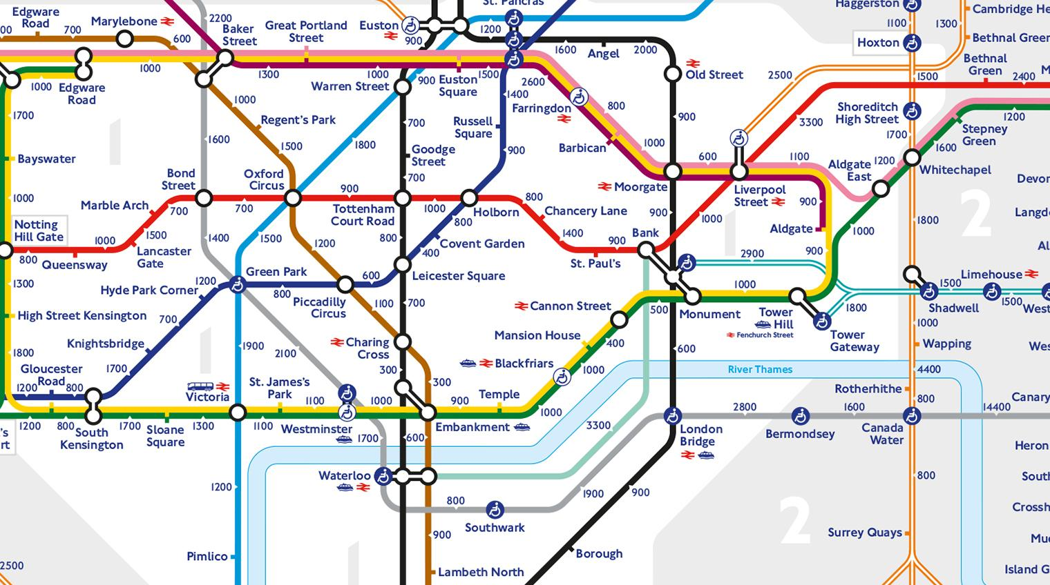London 1600 Map.8 Amazing Alternative London Tube Maps Indy100