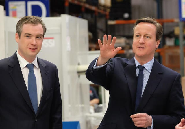 <p>James Wharton was 'Northern Powerhouse' minister' under David Cameron</p>