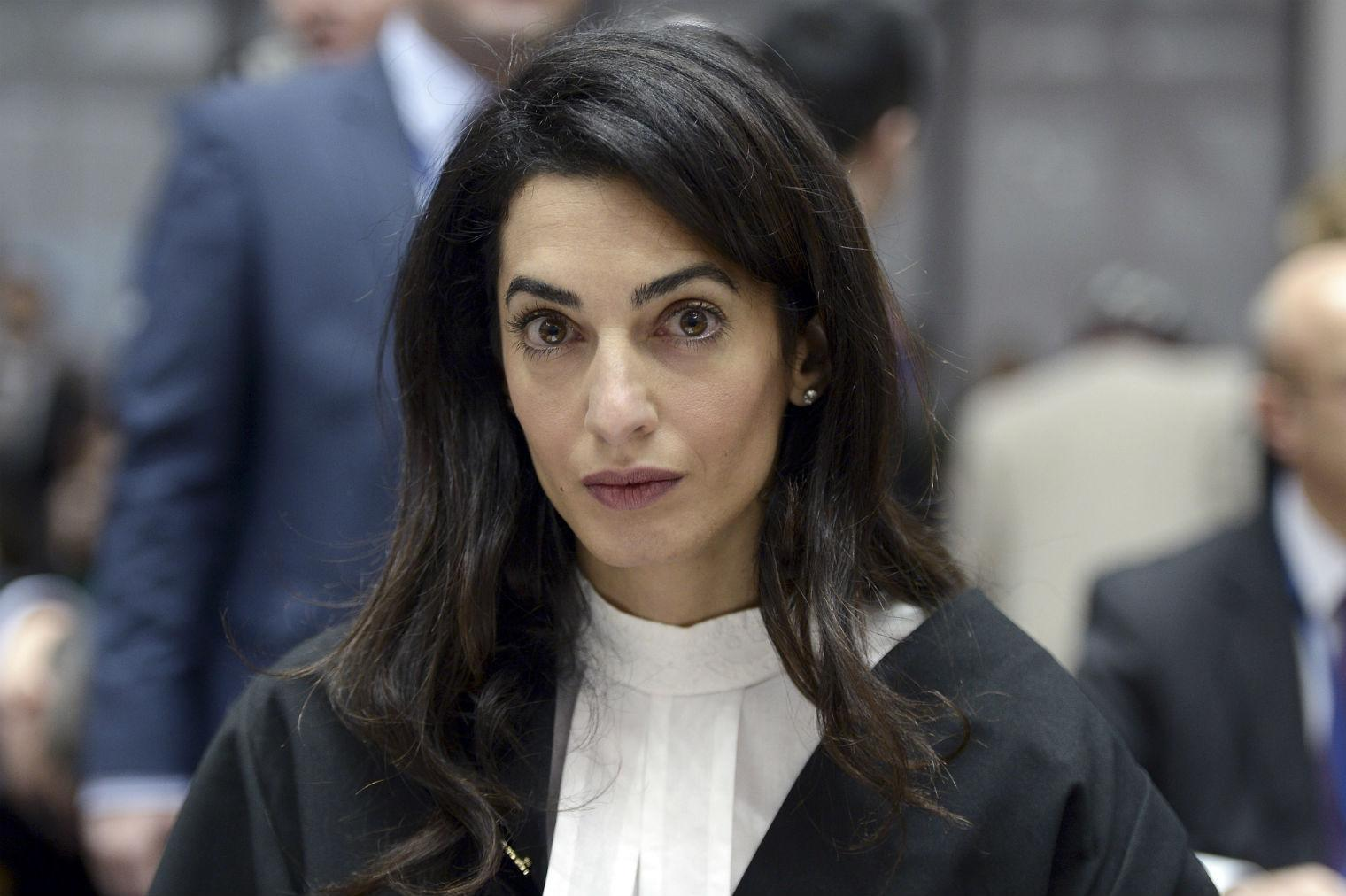 picture Amal Clooney speaks out against sexist' Donald Trump