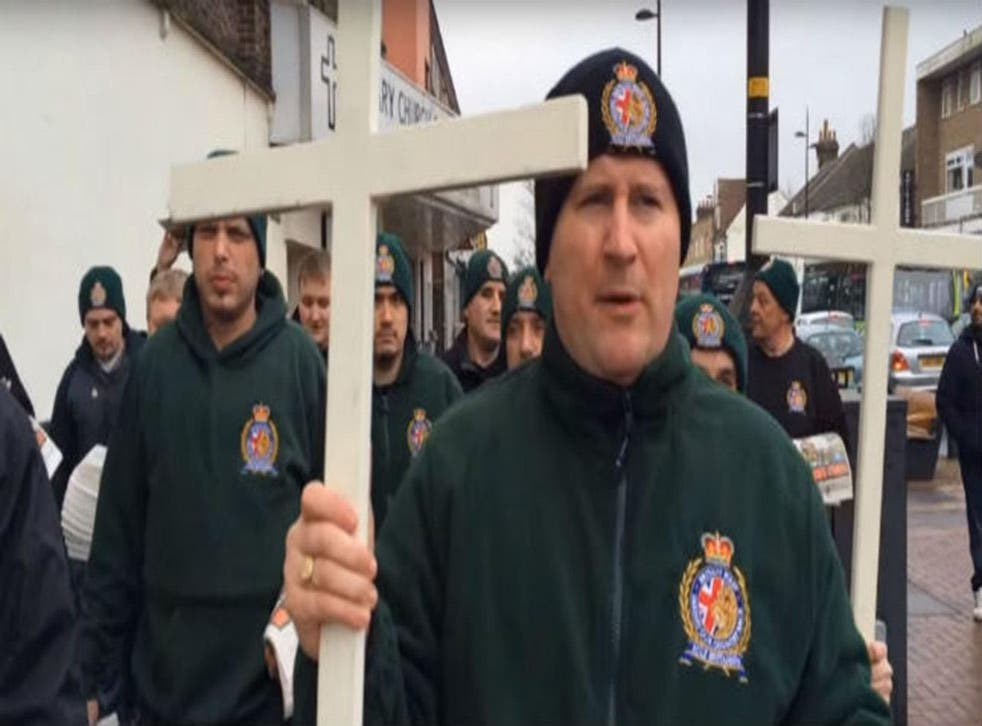 Picture: Britain First/YouTube/Screengrab