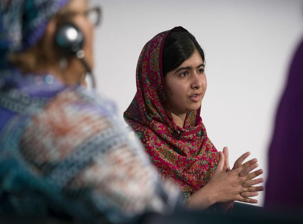 Malala Yousafzai  speaks at the UK's first Girl Summit to discuss FGM and forced marriage, 29th August 2014