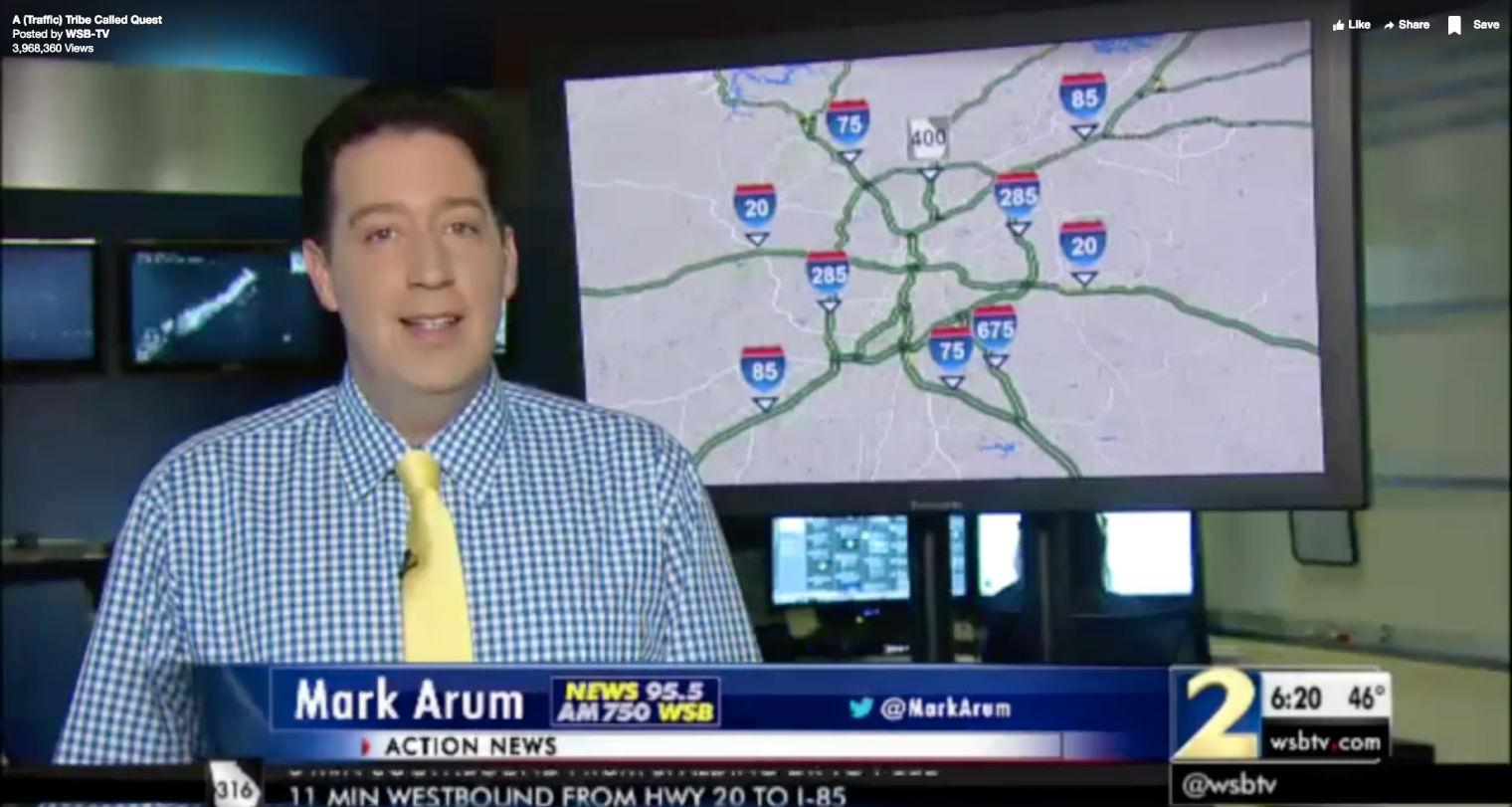 This news reporter gave an incredible tribute to Phife Dawg