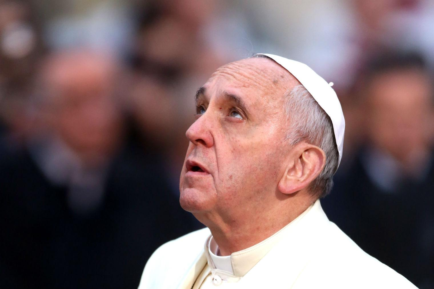 Pope Francis: Christmas this year will be a 'charade'