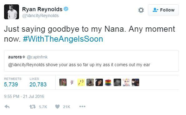 Fans keep sending Ryan Reynolds sexual advances and his