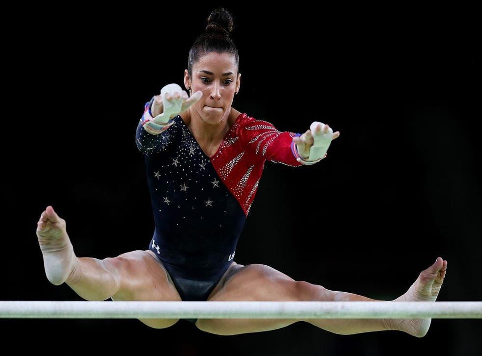Aly Raisman at the 2016 Rio Olympics