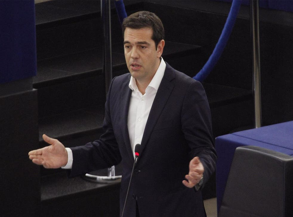"""The IMF said prime minister Alexis Tsipras and his coalition government could lead Greece into """"explosive"""" long-term debt for the next decade"""