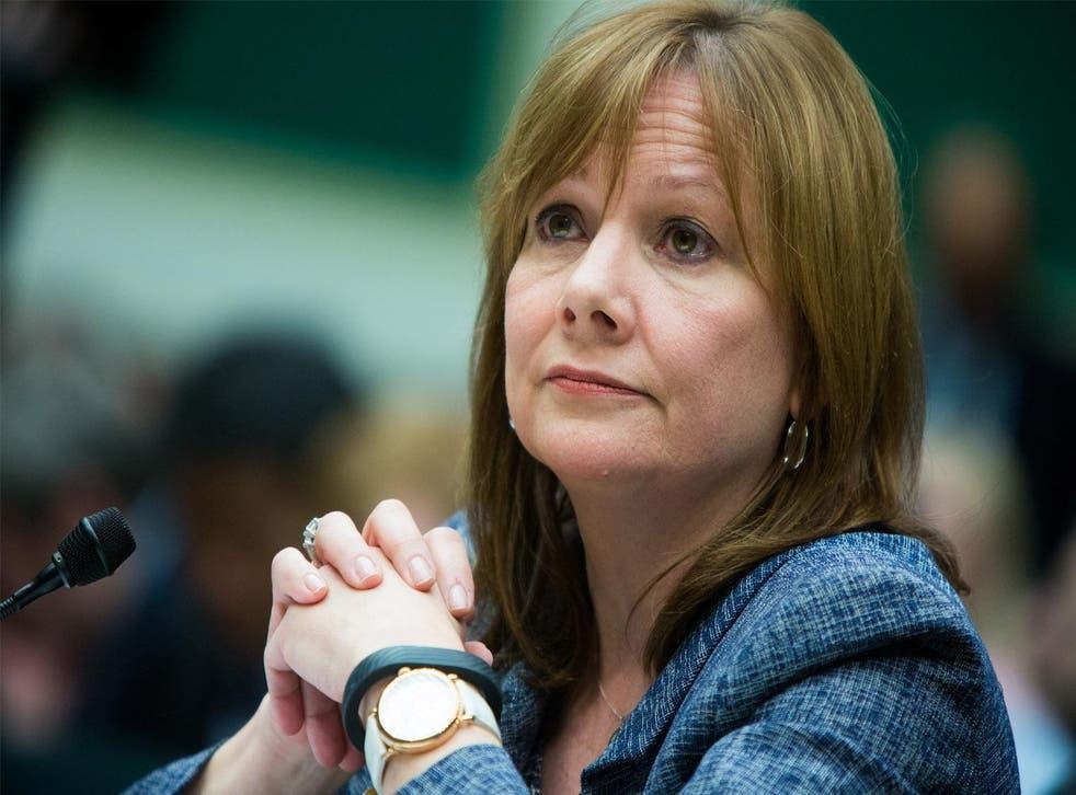 CEO of General Motors, Mary Barra