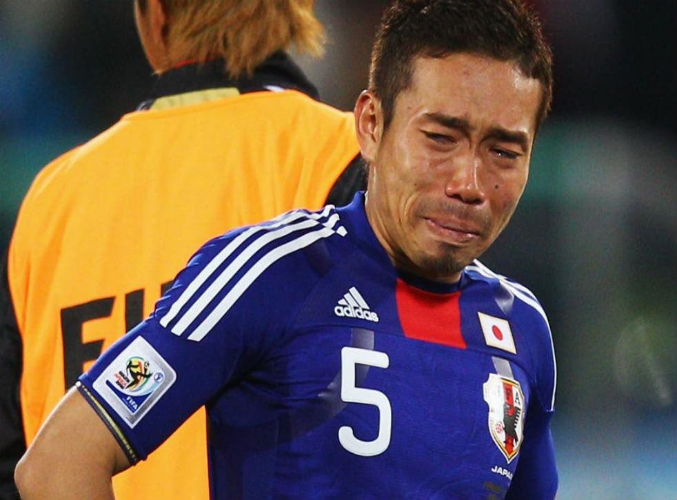 Footballer Yuto Nagatomo is particularly devastated by the news