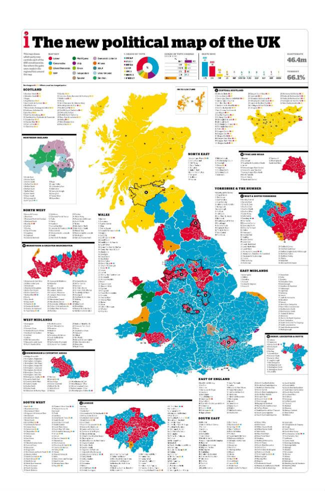 Map Of England Zoom.12 Maps That Help Show The General Election Result In A Different