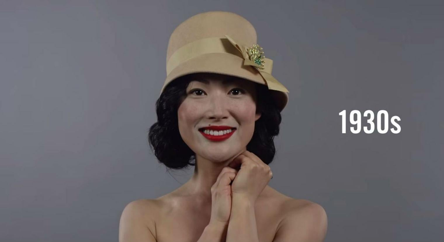 Watch 100 years of North and South Korean beauty trends in one minute | indy100