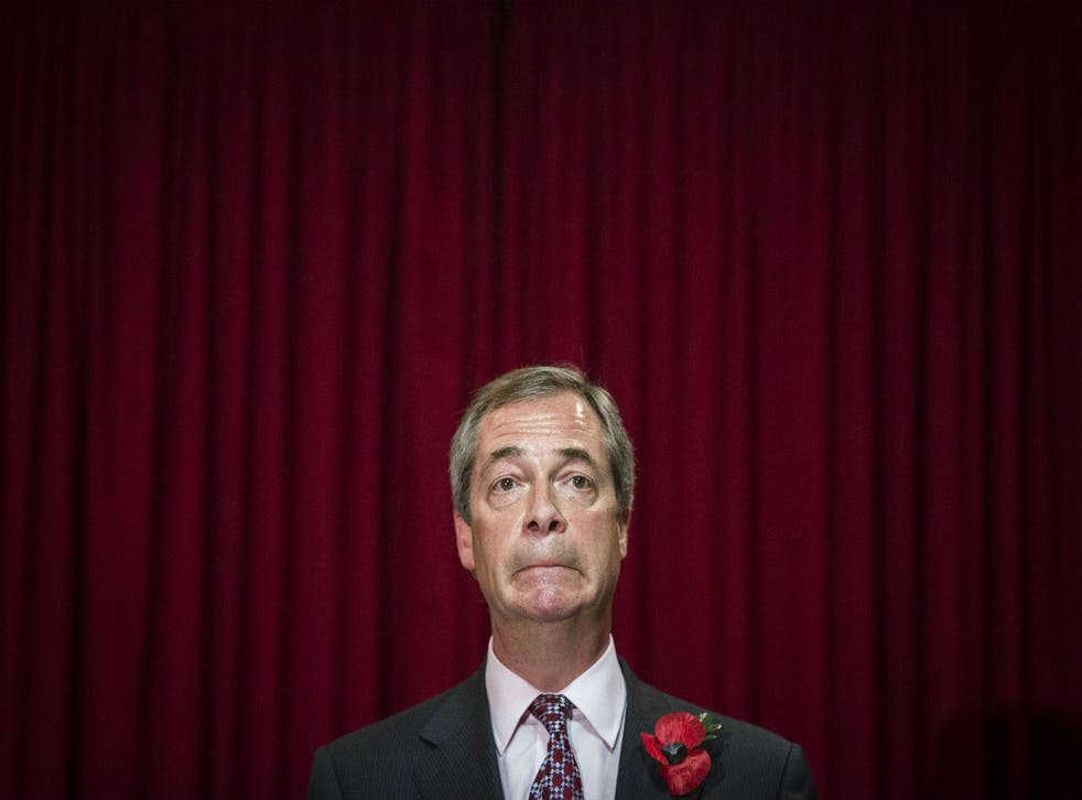 Nigel Farage is viewed less favourably than his party
