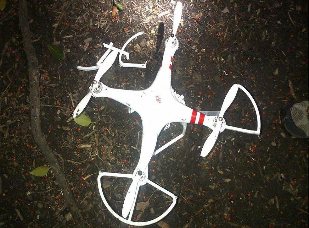 The drone crashed onto the White House lawn on 26 Jan