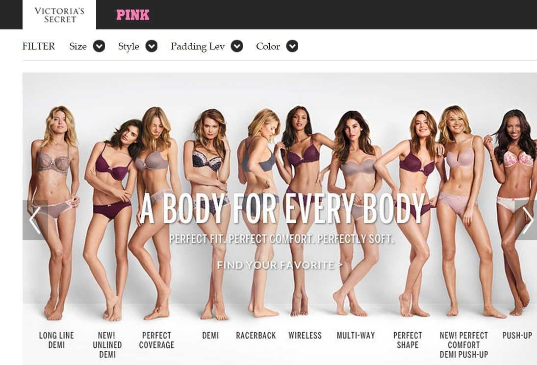 That campaign against the Victoria's Secret 'perfect body' ad It