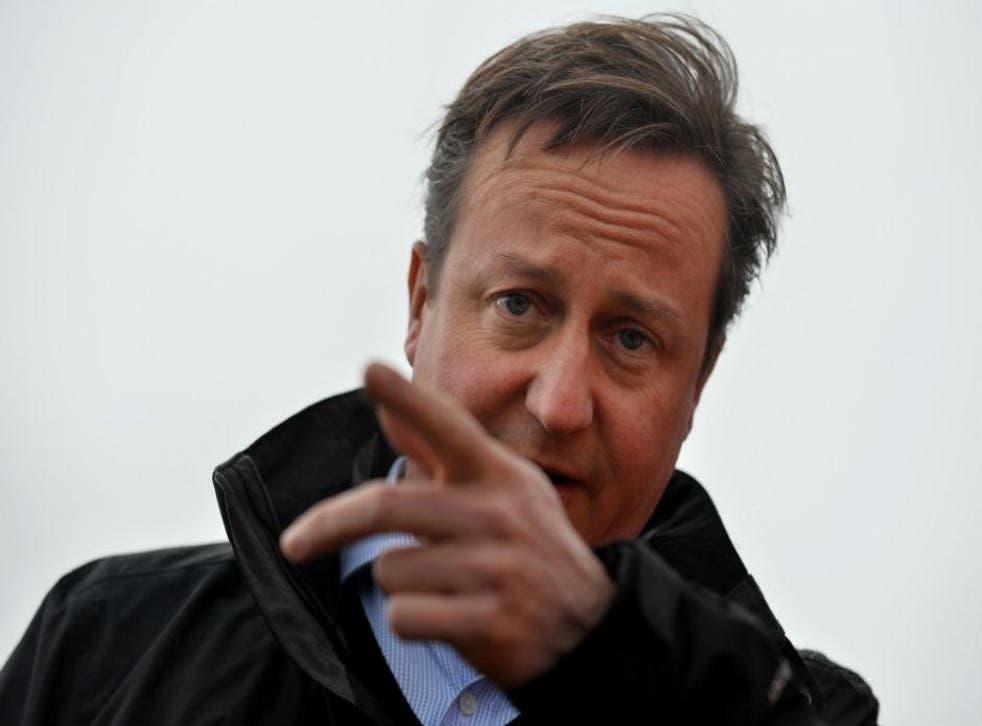 """Oi! Now listen up Jose."" Cameron on the EU warpath"