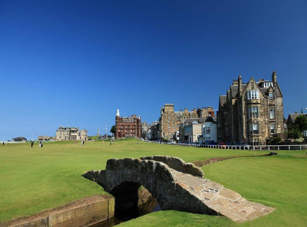 The Royal and Ancient Golf Club at St Andrews