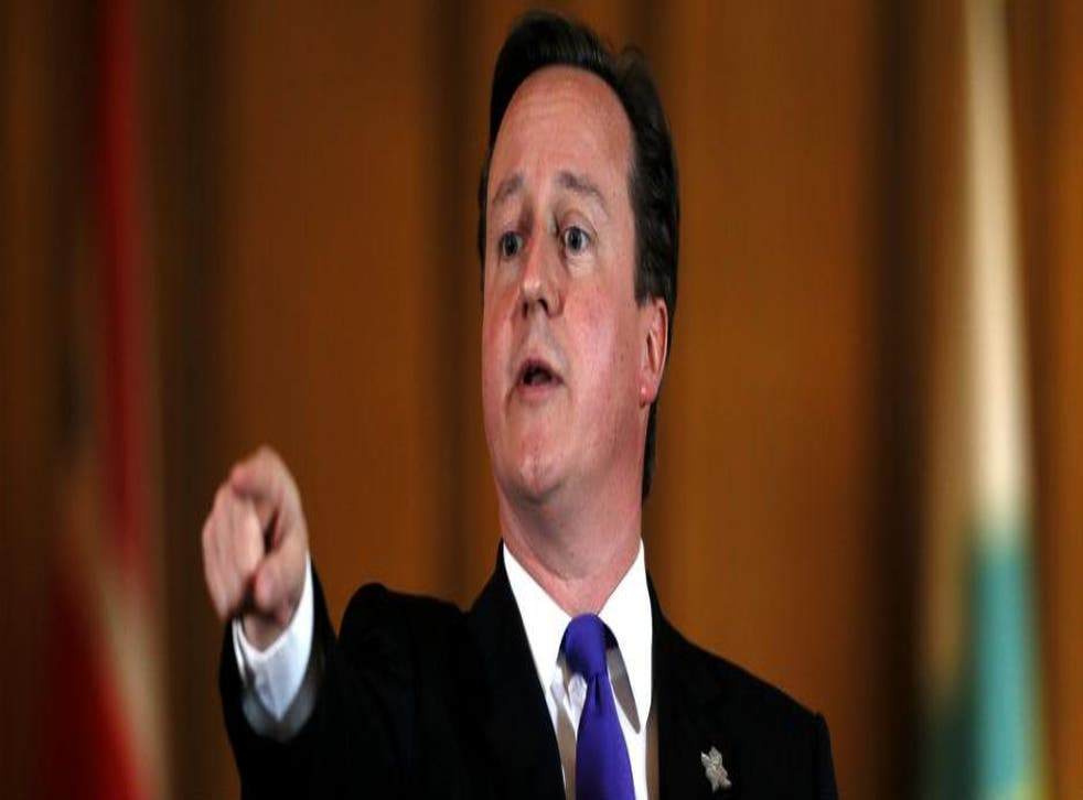 David Cameron presumably put some thought into his choices