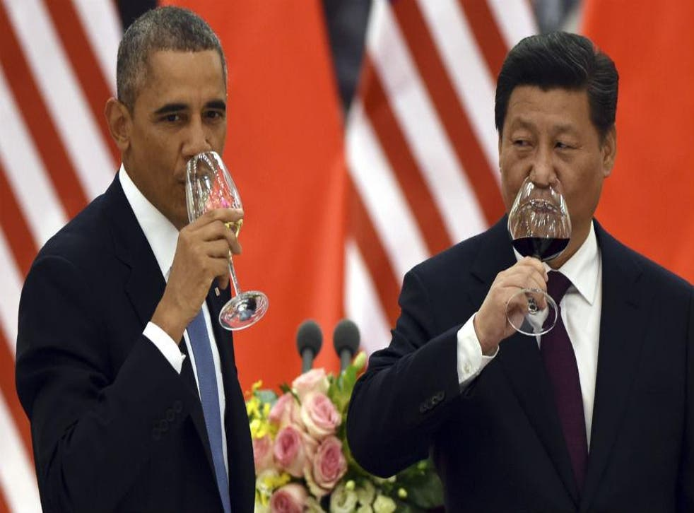 Barack Obama and Xi Jinping finalised the deal at the Apec summit in Beijing