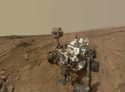 Curiosity Rover's Self Portrait