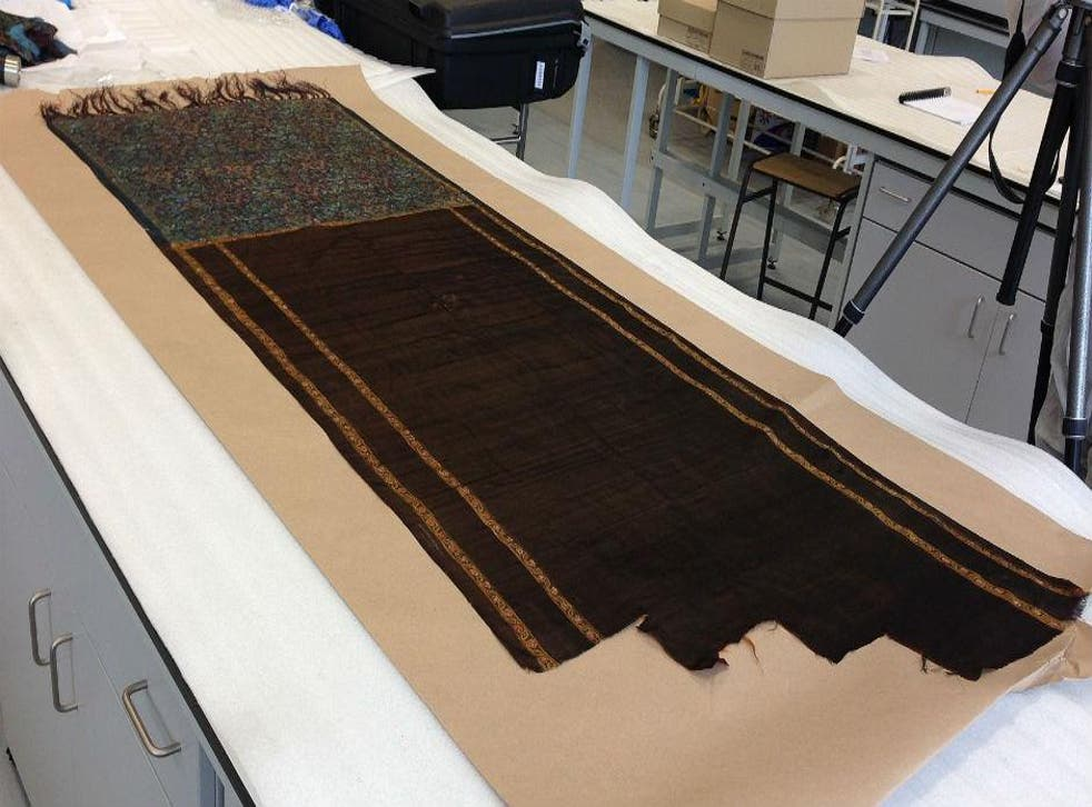 A shawl said to be the vital piece of evidence