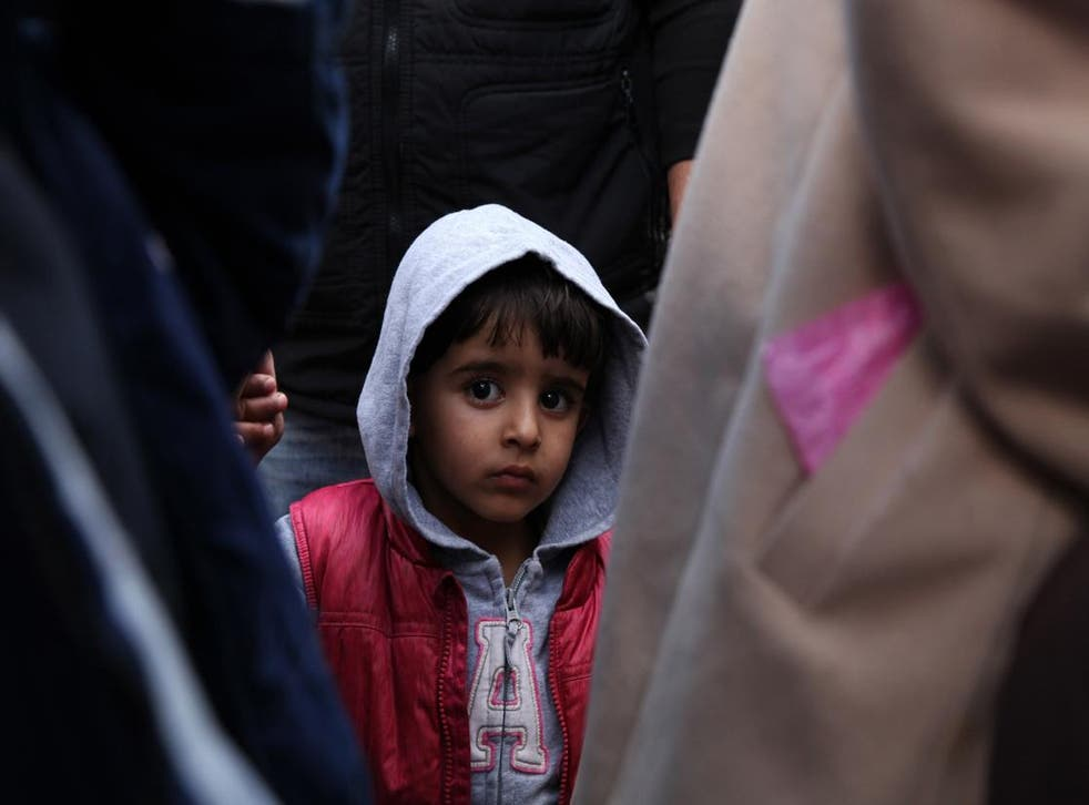 A Syrian refugee rescued off the coast of North Cyprus