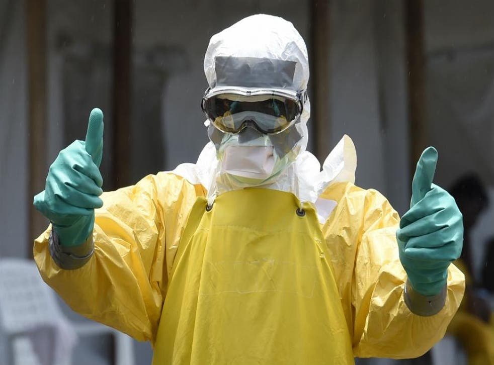 One of the many caregivers who risked their lives in the fight against Ebola