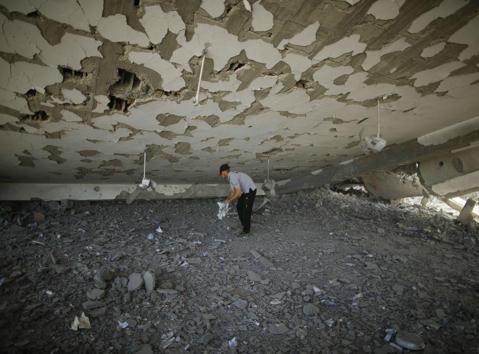 (Picture: Mohammed Salem/Reuters
