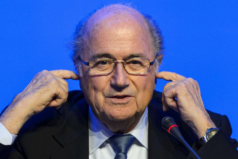 Sepp Blatter to attend 2018 World Cup after Vladimir Putin invite - despite being banned from football for six years