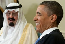 Saudi Arabia is showing signs of financial strain as its relationship with the US sours