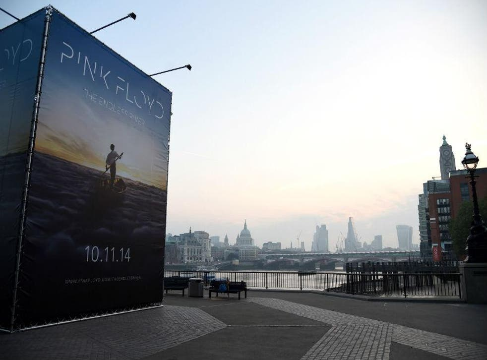 Pink Floyd's The Endless River on display in London