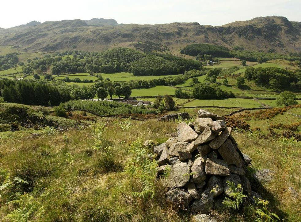 The picturesque Eskdale Valley, Copeland