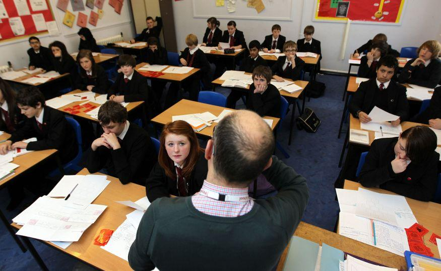 Does the tests have anything to say when it comes to final grades in Britain?