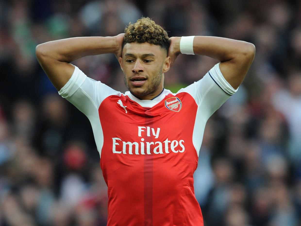 Image result for Alex Oxlade-Chamberlain happy at Arsenal but wants more playing time