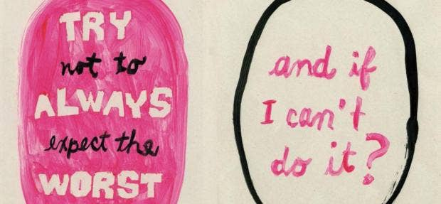 The illustrations that show what life is like with anxiety   indy100