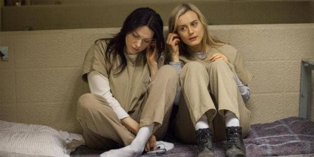 Those Orange Is The New Black Sex Scenes Were As Painful As They Looked