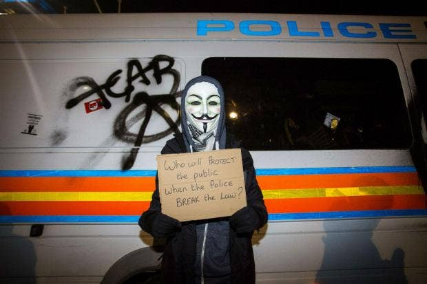 artsandculture article anonymous force million mask march