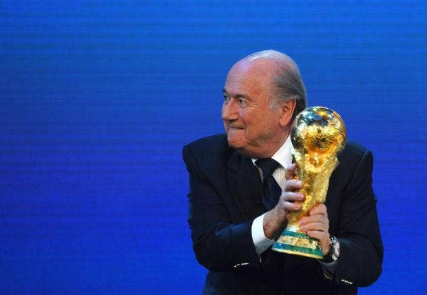 The twelve most farcical things sepp blatter said or did for Farcical how to say