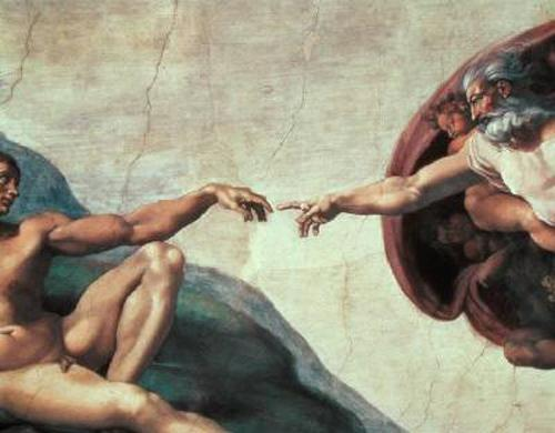 Buonarroti, Michelangelo: The Creation of Adam (1510) | The ...
