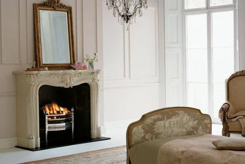 Where the hearth is fitting the right fireplace can add Old home interior pictures value