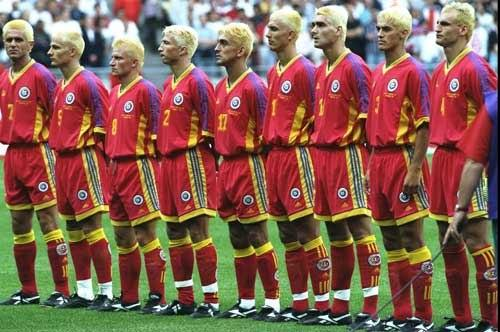 World Cup 2014 countdown: Romania go blonde in 1998 | The ...